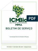 ICMBioMMa Boletim de Serviço