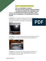 ACTIVIDAD No 2 Componentes Principales BIMO
