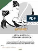 Desarrollo de Capacidaes de Productoras Mujeres