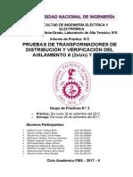 If2 Pruebas de Transformadores de Distribución