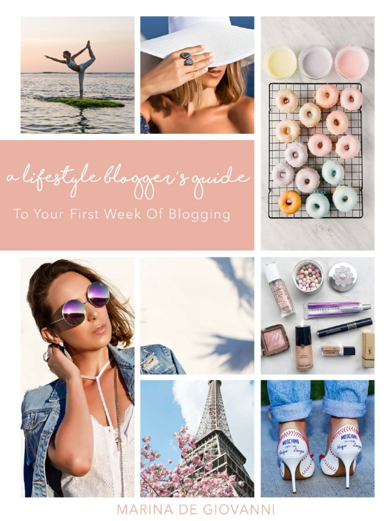 a lifestyle bloggers guide marina pdf free download