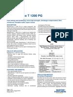 BASF MasterEmaco T 1200 PG Tech Datasheet