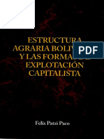 Estructura Agraria Boliviana