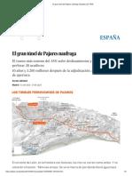 El Gran Túnel de Pajares Naufraga _ España _ EL PAÍS