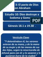 Dios Destruye a Sodoma y Gomorra.