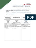 Agenda Helicomotivación Del 14 Al 19 Enero-2019