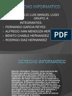 Exposicion Derecho Informatico