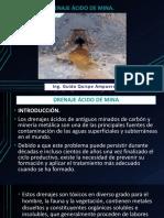 Presentacion N° 8 DRENAJE ÁCIDO DE MINA.