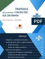 PUBLICAÇÃO SEBRAE BA Estudo de Mercados Para o Cacau