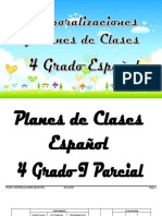 4 Grado Español