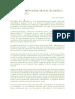 Aportes y Limitaciones Clínicas Del Modelo Psicodinámico
