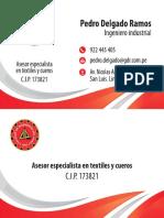 Tarjeta Ingeniero Curvas