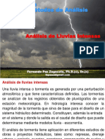 ANALISIS DE LLUVIA