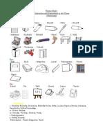 Vocabulario de cosas que se usan en el colegio ( en alemán)