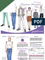 Catalogo de Patrones de Pantalones, Bermudas, Sacos y Chaquetas Modafacil DIY.pdf