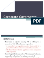 8.Corporate Governance