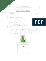 E1. Radiation Measurement