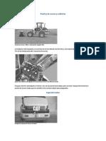 Sección de Mantenimiento - Cargador Frontal