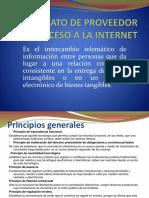 Contrato de Proveedor de Acceso a La Internet