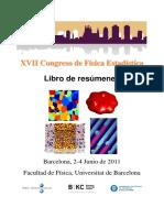 XVIII Congreso de física estadística