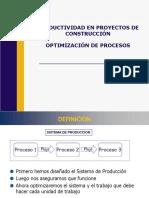 Productividad - Optimización de Procesos