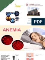 Anemia y trastornos hemodinamicos
