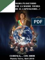 Paradigma planetario ¡O se muere el planeta Tierra o se muere el capitalismo! Cartilla 3