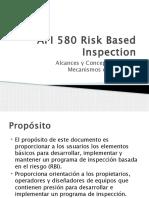 inspeccion basada en riesgo norma api 580