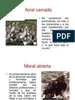 Moral Cerrada y Abierta