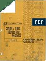 CAT 3408-3412 Manual