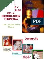 Bases psicosociales de la estimulación temprana