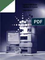 Agilent 1100 Capillary LC System Manual