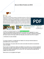 Dix businesses rentables en Côte d'Ivoire