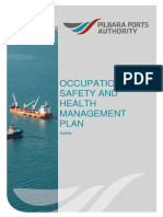 Occupational Safety and Health Management Plan