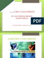 AUDITORIA CONCURRENTE