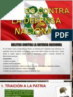Delitos Contra La Defensa Nacional