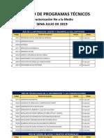 Anexo 03 Catálogo de Programas Técnicos