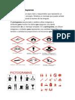 trabajo sobre pictogramas