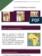 Cultura Egipcia y Su Desarrollo Musical