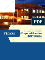 Facultad de Artes y Diseño PROGRAMA DE PUBLICIDAD