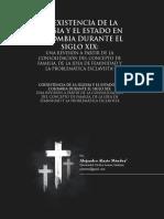 Coexistencia de la Iglesia y el Estado en Colombia durante el Siglo XIX