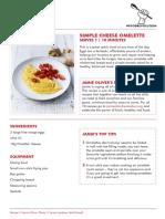 Cheese Omelette Fr Uk
