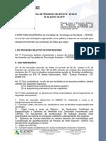 03 - Edital Seleção de Professores 2019.1 - ADS