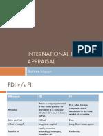 Internatiomal Project Appraisal