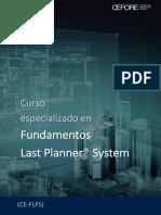Brochure Fundamentos Last Planner System