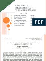 Analisis Neodimium Menggunakan Metoda Spektrofotometri Uv-Vis 1 (1)