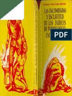 Fernández Méndez, Eugenio - Las encomiendas y esclavitud de los indios de Puerto Rico, 1508-1550
