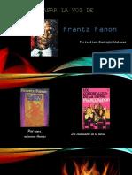 Mensaje de Fanon