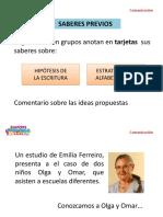 Niveles de Escritura.emilia Ferreyros-stella Mazarolo