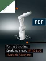 KR AGILUS Hygienic Machine